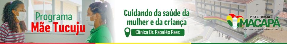 Mídia Prefeitura de Macapá Super Banner Topo